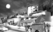 NuanNuan Fire Station_Competition Rewarded 1st Place